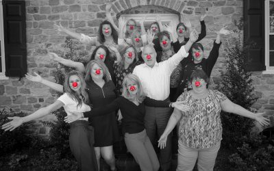Tohickon sticks its [RED] noses exactly where they belong on Red Nose Day, May 23